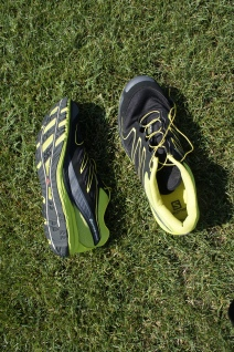 This is a training shoe for forefoot and midfoot strikers.