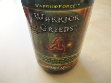 One tablespoon Warrior Force™ Warrior Greens.