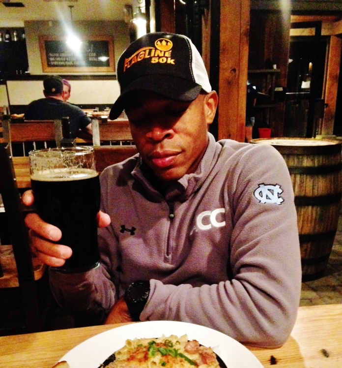 Post Race Dinner: 10 Barrel Mac n' Cheese and a Beer at 10 Barrel Brewing Co. Photo: Jim Hendley
